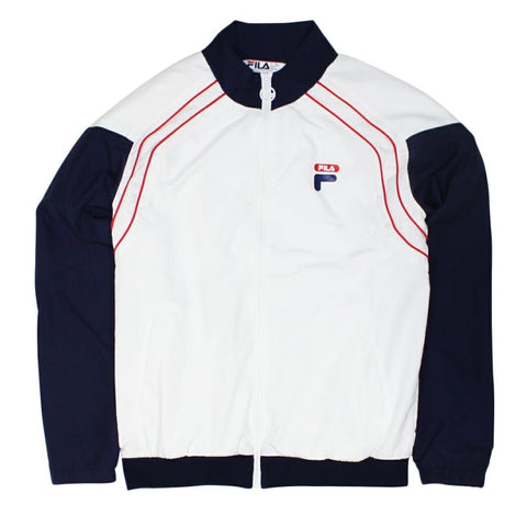 Fila Vaughn Piped Track Jacket Navy/White/Red