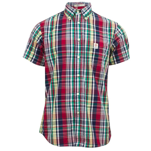 Franklin Marshall Martins Shirt Preppy Plaid