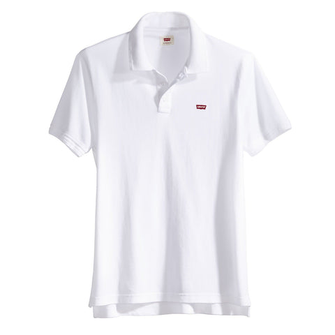 Levi's Housemark Polo White Front