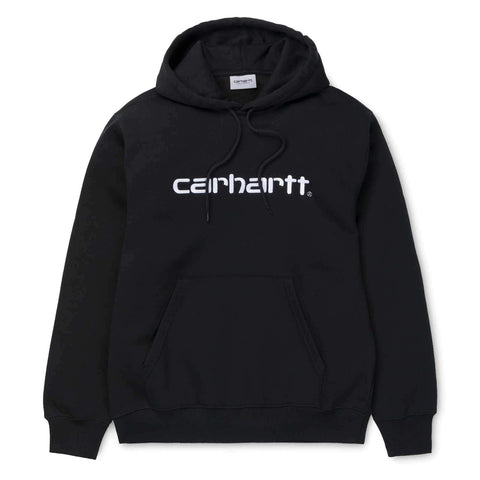 Carhartt WIP Hooded Carhartt Sweat Black/White
