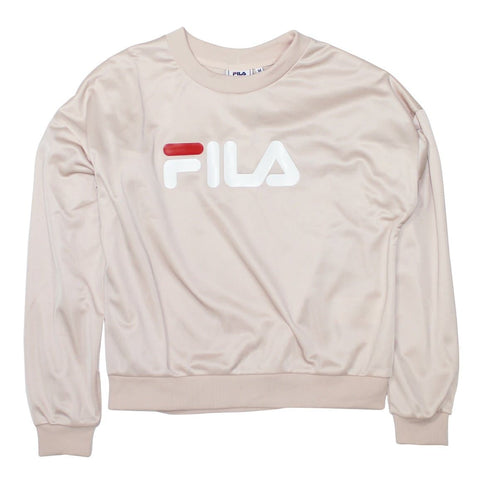Fila Justyna Crew Sweat Cameo Rose