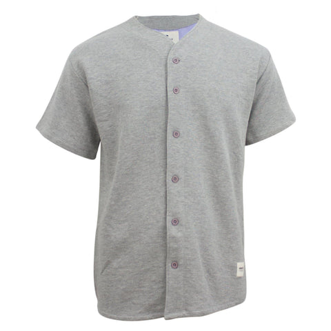 Wemoto Richmond Shirt Grey Heather