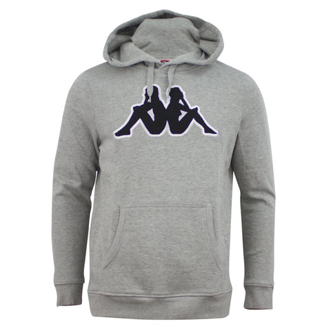 Kappa Logo Airiti Hooded Sweat Grey