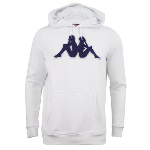 Kappa Logo Airiti Hooded Sweat White