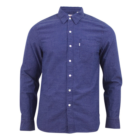 Levi's Sunset 1 Pocket Shirt Navy