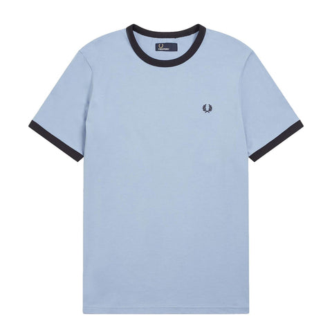 Fred Perry Ringer T- Shirt Blue/Navy