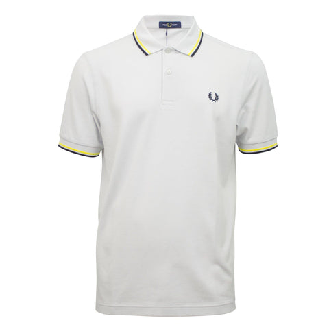 Fred Perry Twin Tipped Shirt Yellow/Black