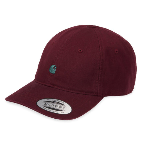 Carhartt WIP Madison Cap Merlot/Dark Fir