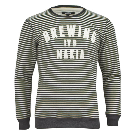 Makia Brewing Sweat Grey White