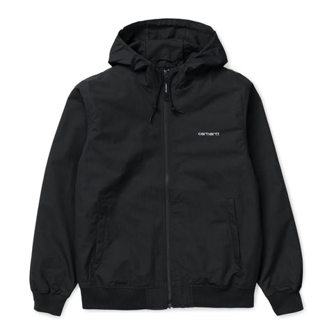 Carhartt WIP Marsh Jacket Dark Navy/White Front