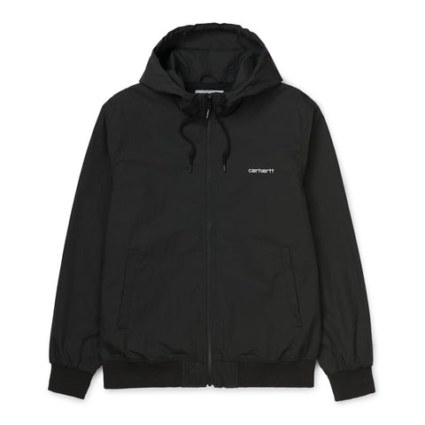 Carhartt WIP Marsh Jacket Black/White Front