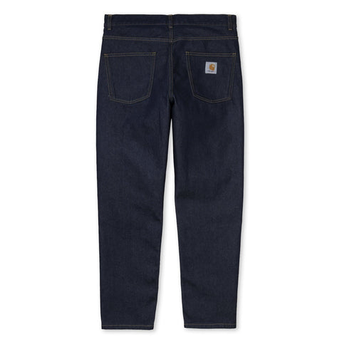 Carhartt WIP Newel Pant Blue Rinsed Back