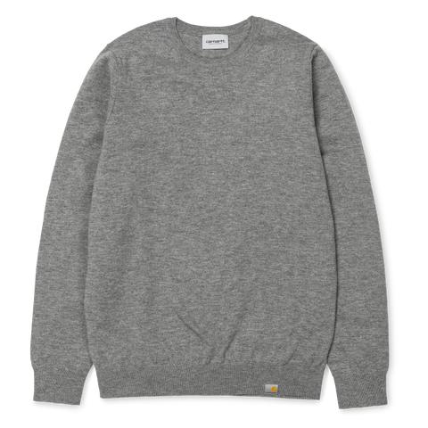 Carhartt Playoff Sweater Grey Heather