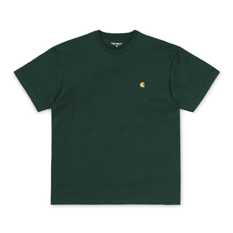 Carhartt Chase T-Shirt Dark Fir/Gold