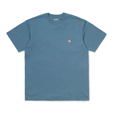 Carhartt WIP Chase T-Shirt Mossa/Gold Front