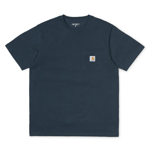 Carhartt Pocket T-Shirt Duck Blue