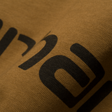 Carhartt Script T-Shirt Hamilton Brown/Black