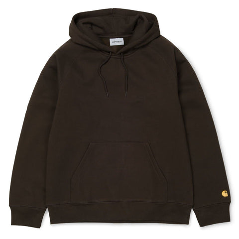 Carhartt Hooded Chase Sweat Tobacco/Gold