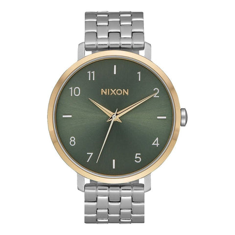 Nixon Arrow Silver/Gold/Agave