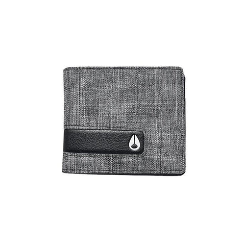 Nixon Showtime Bi-fold Wallet Black Wash