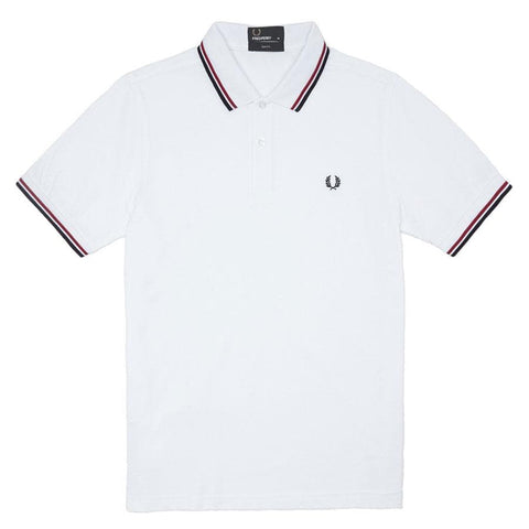 Fred Perry Slim Fit Twin Tipped Polo