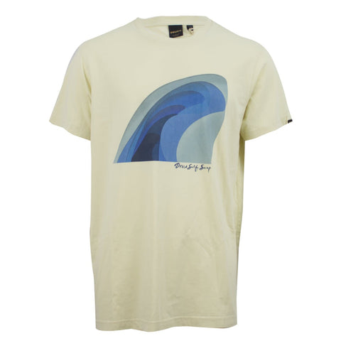 Deus Ex Machina Surf Swap T-Shirt Off-White