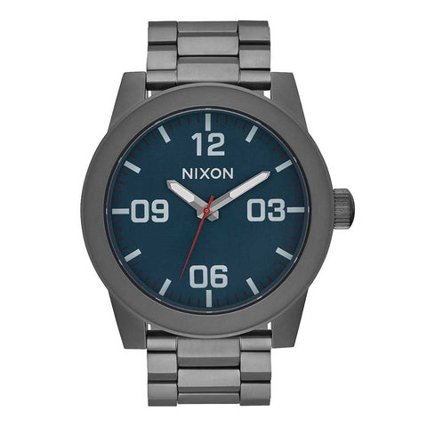 Nixon Corporal SS All Gunmetal/Dark Blue