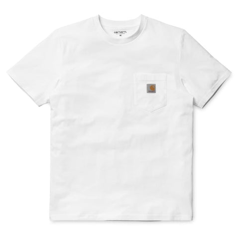 Carhartt Pocket T-Shirt Single Jersey White