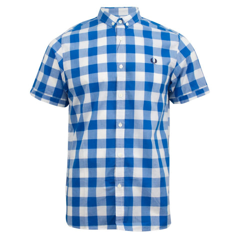 Fred Perry Large Gingham Shirt Aster