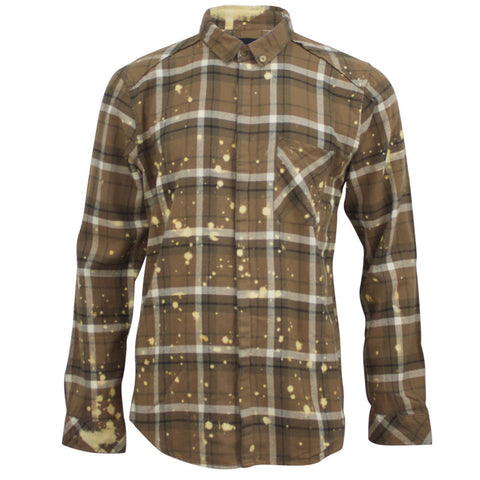 Insight Acid Ramble Shirt Combat Brown Acid