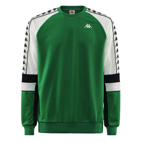 Kappa Arlton 222 Banda Sweat Green/White/Black