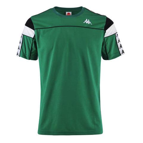 Kappa Arar 222 Banda T-Shirt Green/White/Black