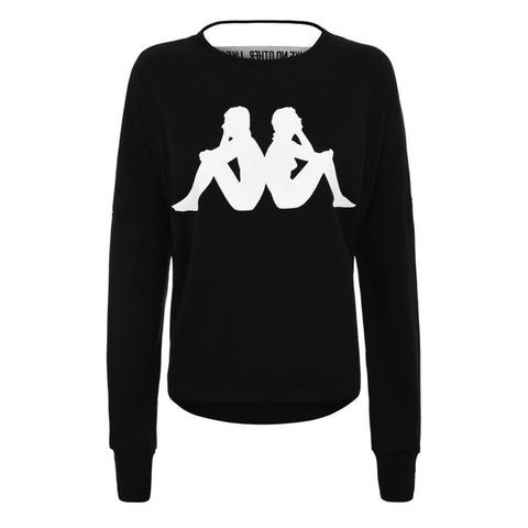 Kappa Bamazy Auth Sweat Black