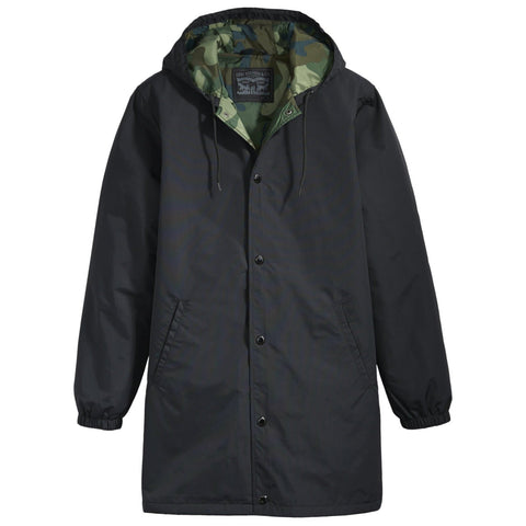 Levi's Hooded Coach's Jacket Black