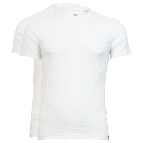 Levi's Slim 2 Pockets Crewneck Branco Pack