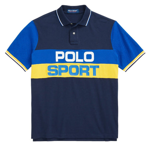 Ralph Lauren Polo Sport Short Sleeve Knit Navy