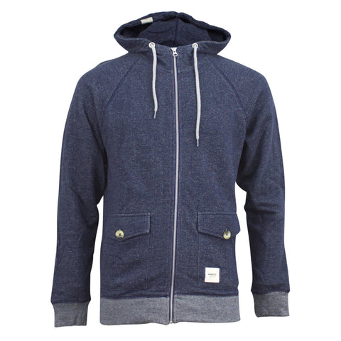 Wemoto Hampton Hooded Jacket Navy Heather