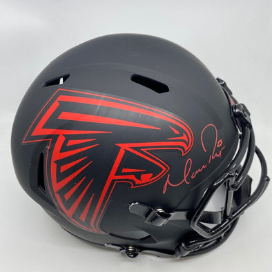 Matt Ryan Signed Atlanta Falcons Eclipse Replica Helmet