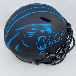 Sam Darnold Signed Carolina Panthers Full Size Authentic Eclipse Helmet
