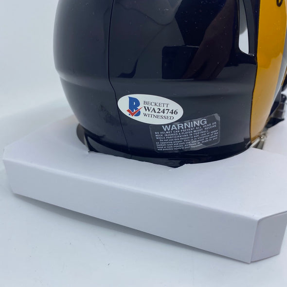 Kurt Warner Signed St. Louis Rams Speed Mini-Helmet