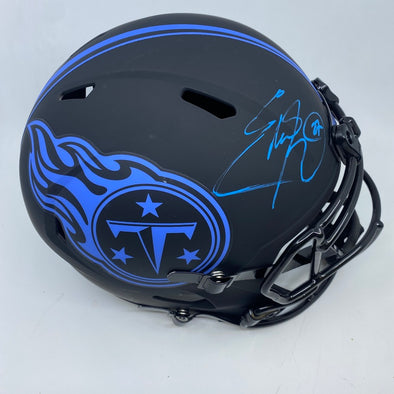 Eddie George Signed Tennessee Titans Eclipse Replica Helmet