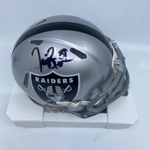 Tim Brown Signed Oakland Raiders Speed Mini-Helmet
