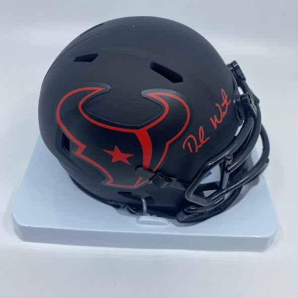 Deshaun Watson Signed Houston Texans Eclipse Mini-Helmet