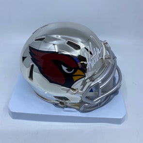 Kurt Warner Signed Arizona Cardinals Chrome Mini-Helmet