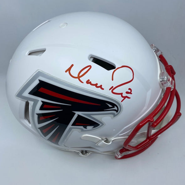 Matt Ryan Signed Atlanta Falcons Matte White Replica Helmet