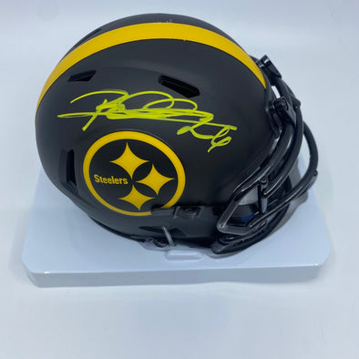 Rod Woodson Signed Pittsburgh Steelers Signed Eclipse Mini-Helmet