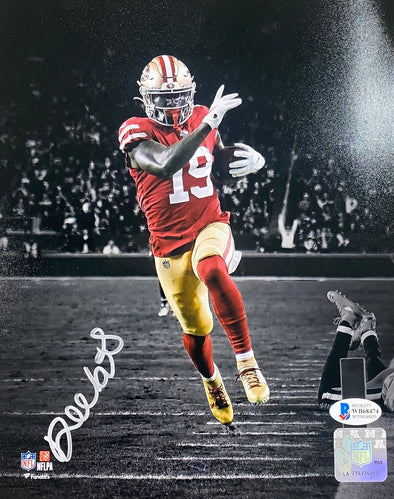 Deebo samuel Signed San Francisco 49ers Signed 8x10 Spotlight Photo