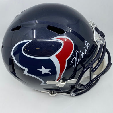 Deshaun Watson Signed Houston Texans Full Size Speed Replica Helmet
