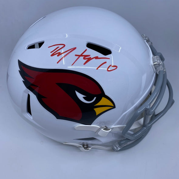 DeAndre Hopkins Signed Arizona Cardinals Full Size Speed Replica Helmet