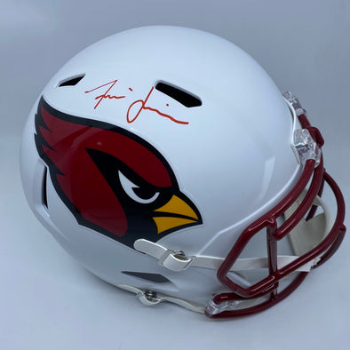 Isaiah Simmons Signed Arizona Cardinals Matte White Replica Helmet